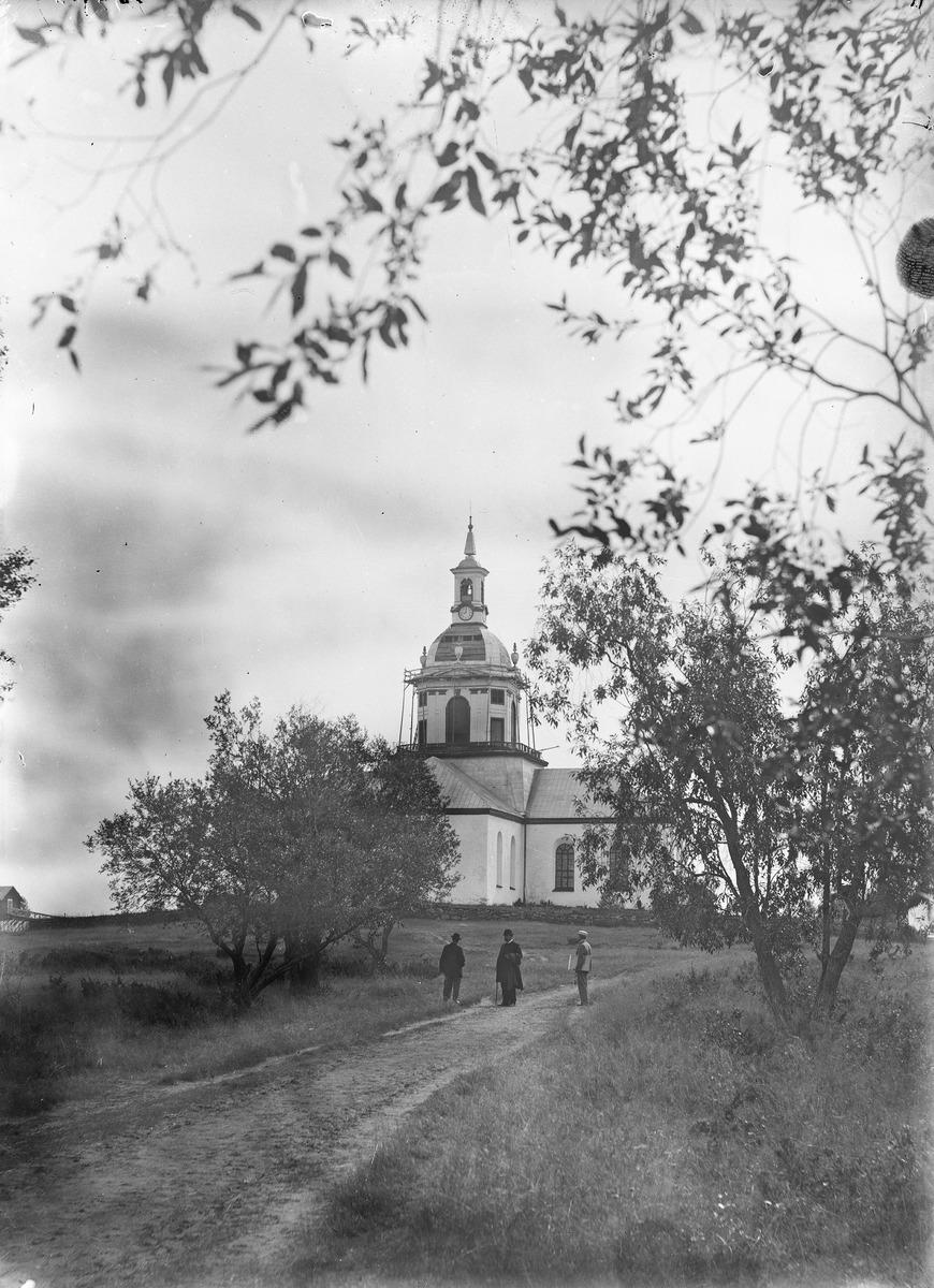 Alatornion kirkko 1896. Museovirasto, historian kuvakokoelma.